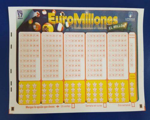 La lotería EuroMillones