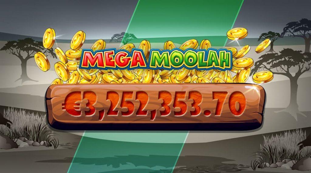 Mega Moolah betalar ut jackpot på €3,3m