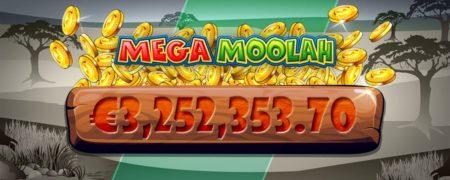 Mega Moolah da un premio de £2,7m por una apuesta de £6,25