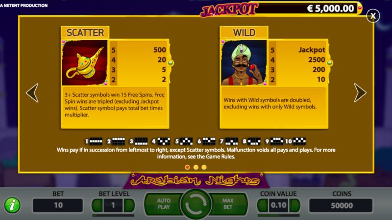 Arabian Nights screenshot