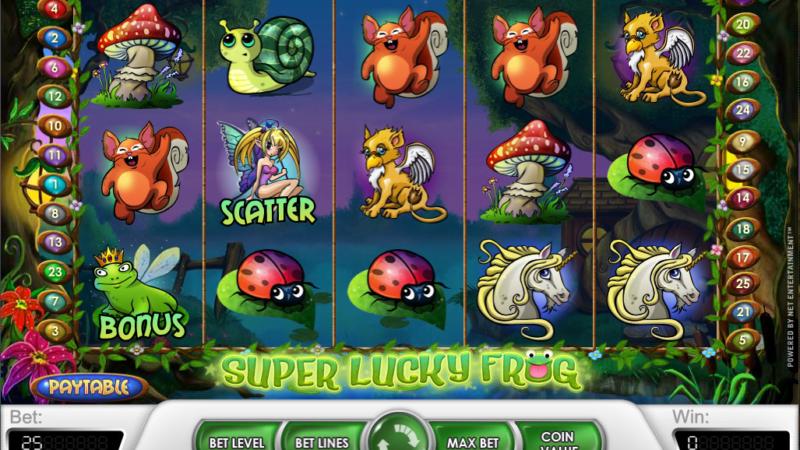 Super Lucky Frog screenshot