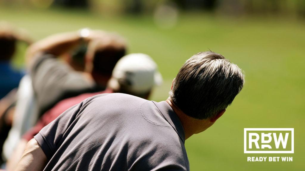 Golf spectators