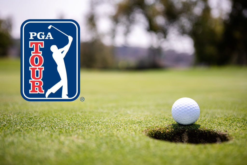 PGA tour continues without an audience